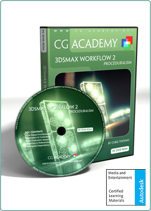 CG Academy: Workflow2:Proceduralism