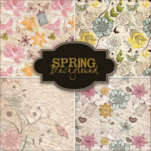 funny backgrounds_18. Textures - Spring Backgrounds