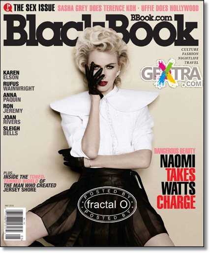 Black Book Magazine | May 2010 | 33.81MB | HF-RS-DF