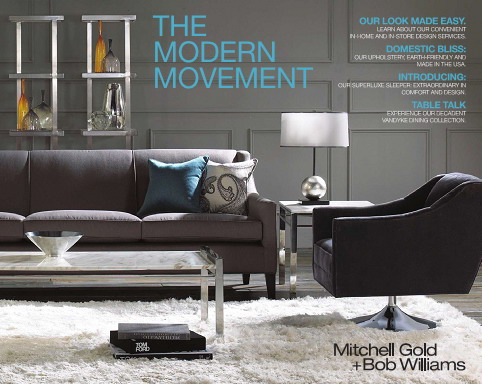 Mitchell Gold + Bob Williams Home Collection 2010 - The Modern Movement