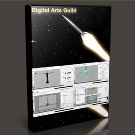 Digital Arts Guild - Maya Fluids - Rocket with Aaron F. Ross