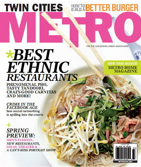 Twin Cities Metro Magazine - March 2011