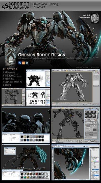 Windows10up.com Download Free Gnomon Robot Design (1 cd) - Cheap OEM Software