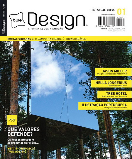Blue Design Magazine II Serie Issue 01