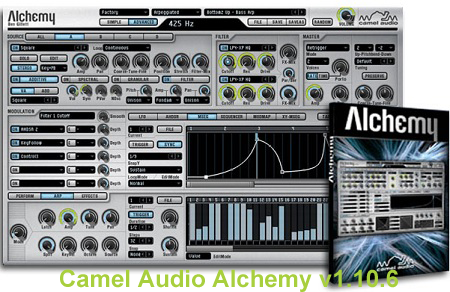 Camel Audio Alchemy v1.10.6 VSTi AU MAC OSX UB Included Libraries