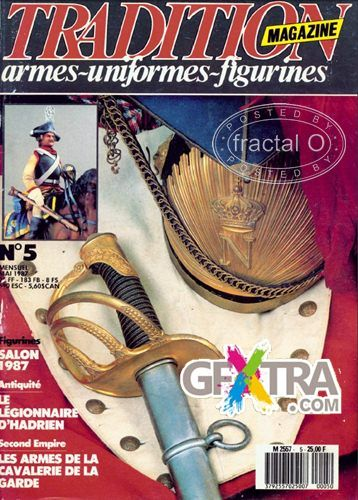 Tradition Magazine | armes-uniformes-figurines | 005 1987