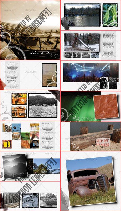 graphicriver white dream album