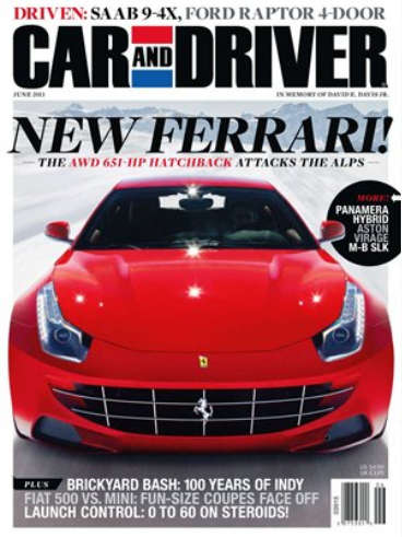 Car and Driver - June 2011