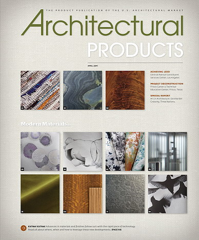 Architectural Products Magazine - April 2011