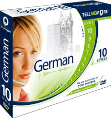 Tell Me More German - Version 9 (10 Levels)
