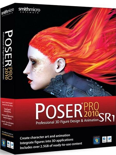 Poser Pro 2010 SR1 ENG/Final