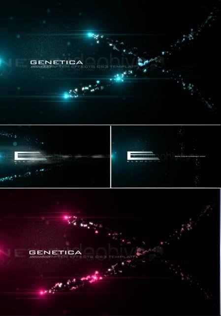 Genetica - Project for After Effects (Videohive)
