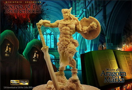 Miniature Mentor # 11 - Miniature Sculpting With Aragorn Marks