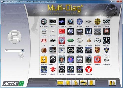 Multi-Diag ACTIA III (2011)
