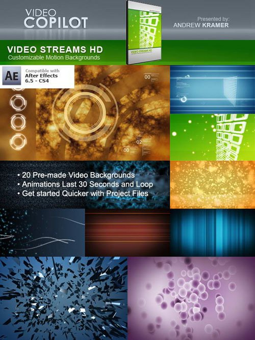 Video Copilot - Stream HD