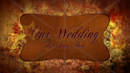 After Effects Project - Autumn Wedding Elements 87420