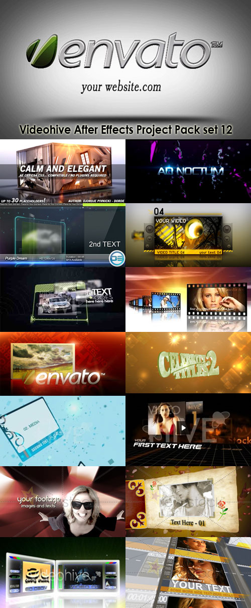 Videohive After Effects Project Pack set 12