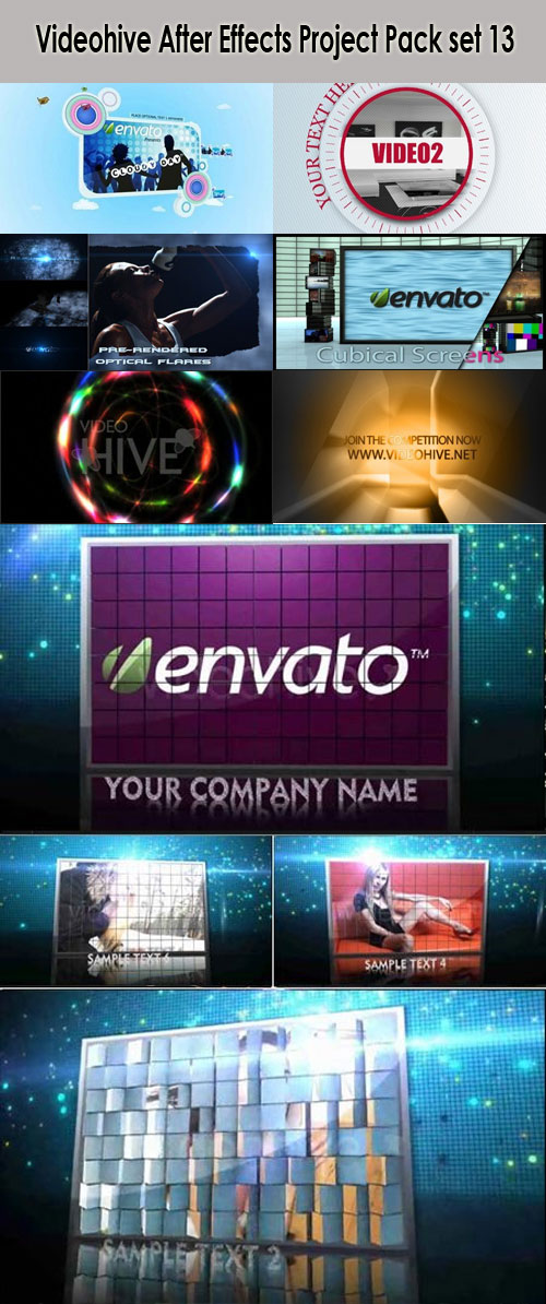Videohive After Effects Project Pack set 13