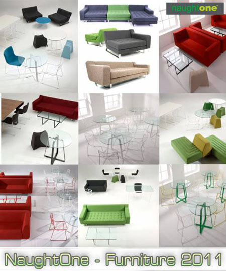 3D Models - Furniture NaughtOne: Collection 2011