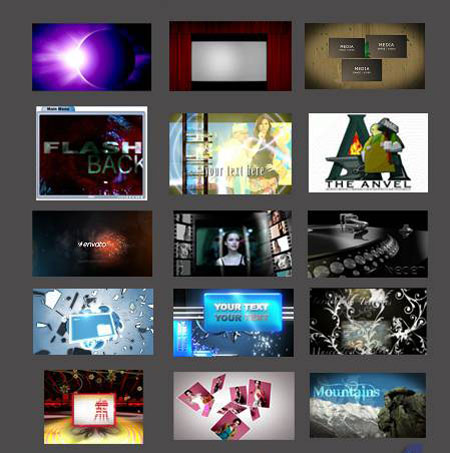 After Effects Project - From VideoHive: Part 2 (New)