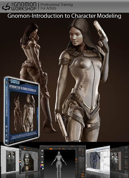 Gnomon Workshop - Introduction to Character Modeling (2010/ENG) - MAX!
