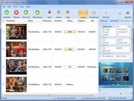 hd movie maker full version free software.