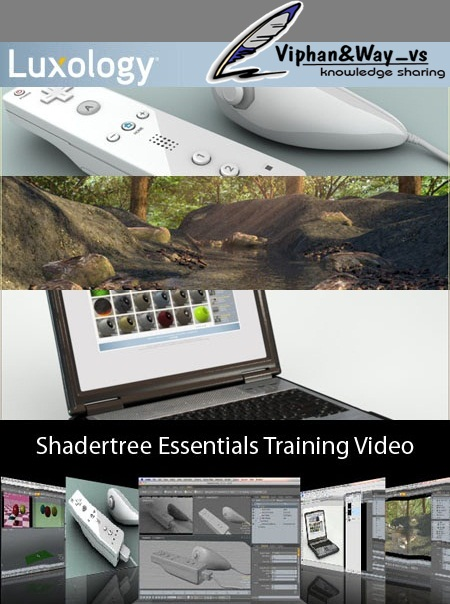 Luxology Modo - Shadertree Essentials Training Video