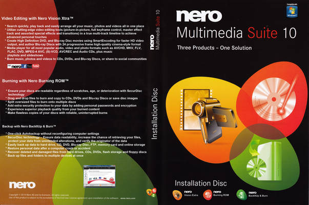 Nero Multimedia Suite  10.0.13200  Full Incl  Serial [ 100% Working ]