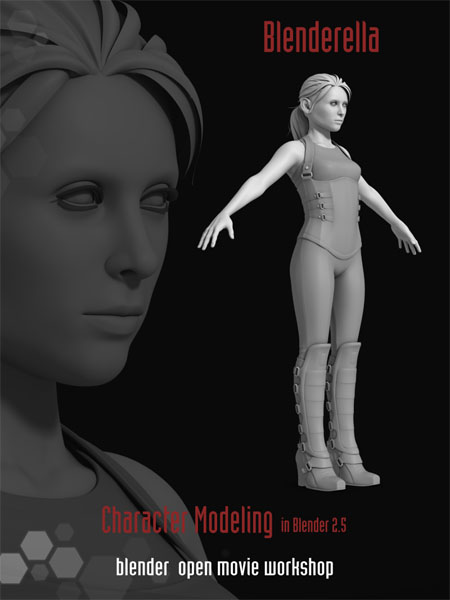 Blenderella Character Modeling In Blender 2 5 Download : Blenderella blender download