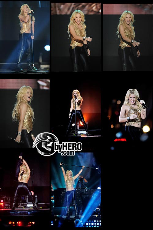 Shakira - Bercy POPB Concert Hall in Paris - June 13, 2011