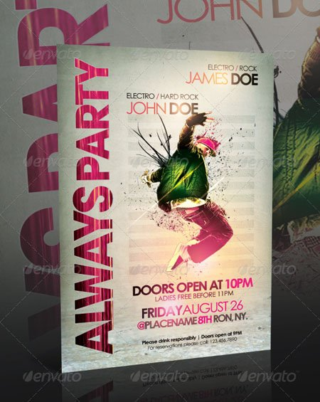 GraphicRiver - Always Party Flyer Template