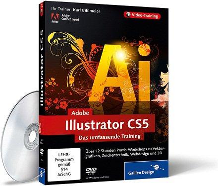 Galileo Design Adobe Illustrator CS4 Das umfassende Training German (1 dvd)
