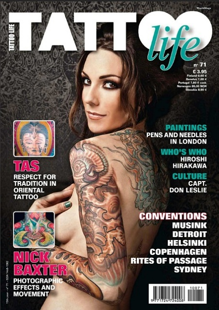 Tattoo Life Magazine (European