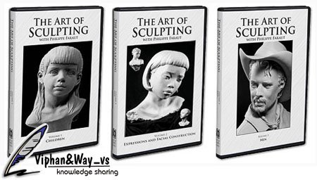 Philippe Faraut: The Art Of Sculpting Volume 1-3