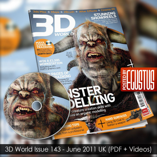 3D World Issue 143 - June 2011 UK (PDF + Videos)
