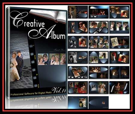 Creative Album Templates, Wedding 12 Series FULL!