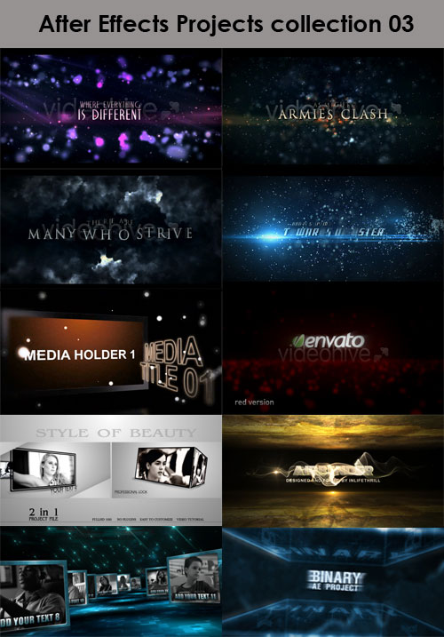 After Effects Projects Collection 03