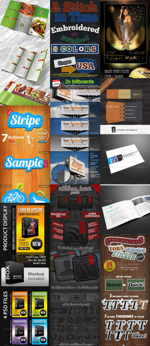 GraphicRiver Collection Pack 03