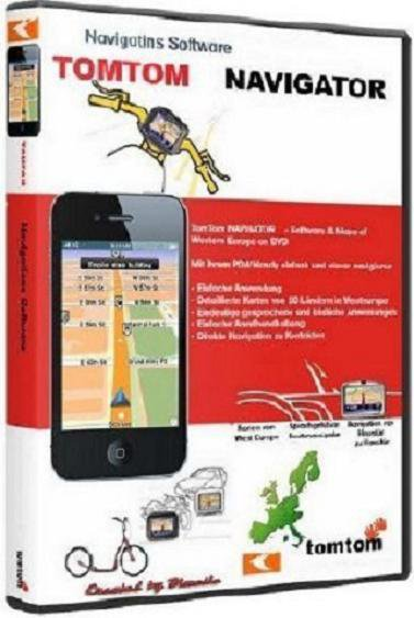 TomTom East Europe & Russia Map v.870.3460