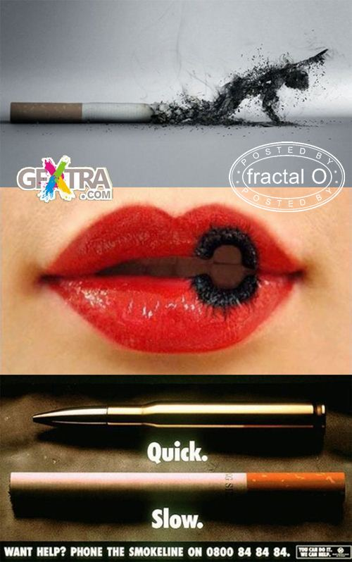 The best anti-tobacco ads (42 pics) | 6.63MB | HF-ES-RS-DF