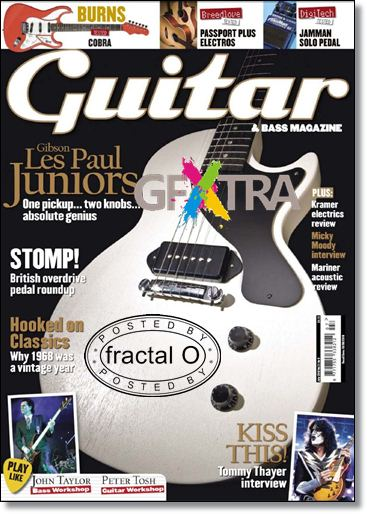 Guitar & Bass Magazine | July 2010 | 34.82MB | HF-ES-RS-DF