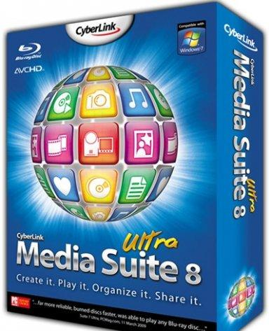 CyberLink Media Suite Ultra 8.0 Multilanguage (1 dvd)